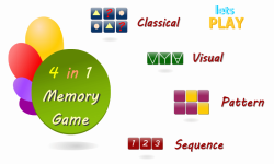 Memory Games For Adults screenshot 1/6