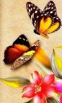 Two Butterfly Live Wallpaper screenshot 1/3