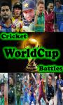 Cricket WorldCup Battles screenshot 1/4