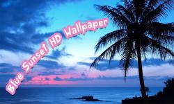 Blue Sunset HD Wallpaper screenshot 1/6