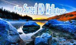 Blue Sunset HD Wallpaper screenshot 2/6
