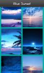 Blue Sunset HD Wallpaper screenshot 3/6
