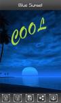 Blue Sunset HD Wallpaper screenshot 6/6