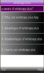 whatsapp  plus screenshot 1/1