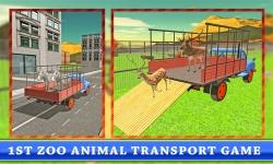 Transport Truck: Zoo Animals screenshot 1/4
