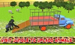 Transport Truck: Zoo Animals screenshot 2/4