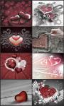 Valentine Day countdown live wallpaper screenshot 1/6