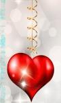 Heart Hanging Live Wallpaper screenshot 1/3
