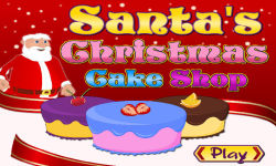 Santas Christmas Cake Shop screenshot 1/5