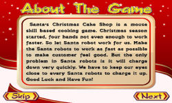 Santas Christmas Cake Shop screenshot 2/5