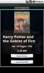 Harry Potter Books Lite screenshot 3/6