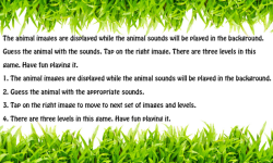 Guess Animal sound Game screenshot 2/3