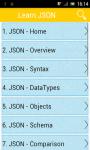 Learn JSON v2 screenshot 1/2