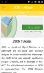 Learn JSON v2 screenshot 2/2