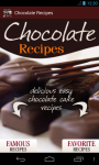 Chocolate Recipes screenshot 1/5