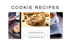 Cookie Recipes food screenshot 1/3