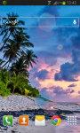 Tropical Sunset LWP Free screenshot 2/2