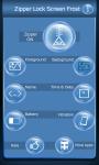 Zipper Lock Screen Frost screenshot 2/6