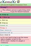 Advanced English Grammar Test screenshot 3/3
