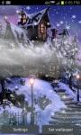 Snowy Evening Live Wallpaper screenshot 2/5