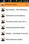 Halloween Radio screenshot 1/4