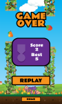 Flappy Fruit Bat Free screenshot 4/4