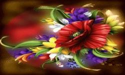 Mix Flowers Live Wallpaper screenshot 2/3