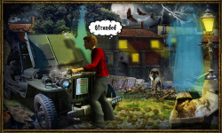 Free Hidden Object Games Escape from Haunted Town screenshot 2/4