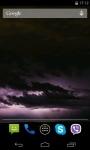 Lightnings Video Live Wallpaper screenshot 1/4
