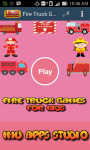 Fire Truck Games For Kids Free screenshot 1/6