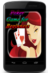 Poker Game for Beginners screenshot 1/4