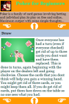 Poker Game for Beginners screenshot 4/4
