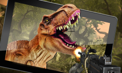 Wild Dino VS Deadly Hunter 3D screenshot 1/5