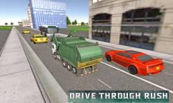 Flying Garbage Truck Simulator screenshot 1/4