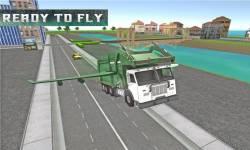 Flying Garbage Truck Simulator screenshot 3/4