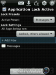 Lock for Messages screenshot 2/3