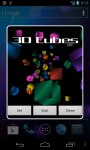 Cube 3D Space screenshot 1/6