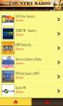 Country Radio Stations screenshot 2/6