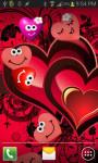 Beautiful Hearts Live Wallpaper screenshot 1/4