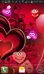 Beautiful Hearts Live Wallpaper screenshot 3/4