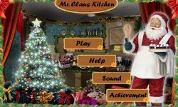 Free Hidden Objects Game - Mr Claus Kitchen screenshot 1/4