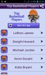 Basketball Players Quick Facts screenshot 1/4