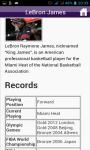 Basketball Players Quick Facts screenshot 2/4