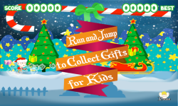 Skinny Santa Run  Jump over Monster to Rescue Gift screenshot 2/6