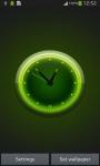 Luminous Clock Live Wallpaper screenshot 4/6