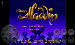 Aladdin 1993 SEGA screenshot 1/5