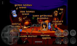 Aladdin 1993 SEGA screenshot 2/5