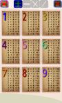 Maths Tables screenshot 1/4