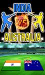 India vs Australia - Android screenshot 1/4