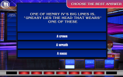 Jeopardy HD star screenshot 2/6